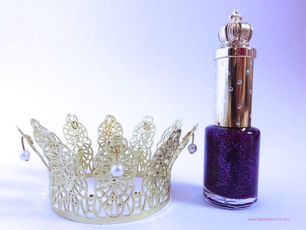 Pompöös Classic Nail Polish Glitter Lilac