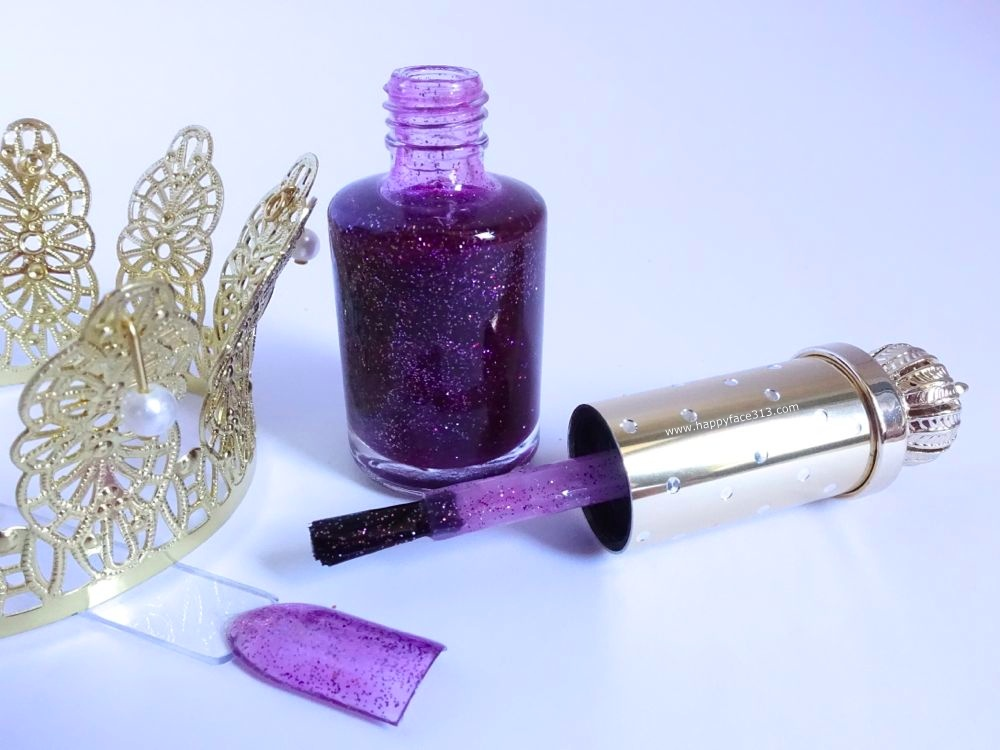 Swatch - Classic nail Polish Glitter Lilac, Pompöös Cosmetics