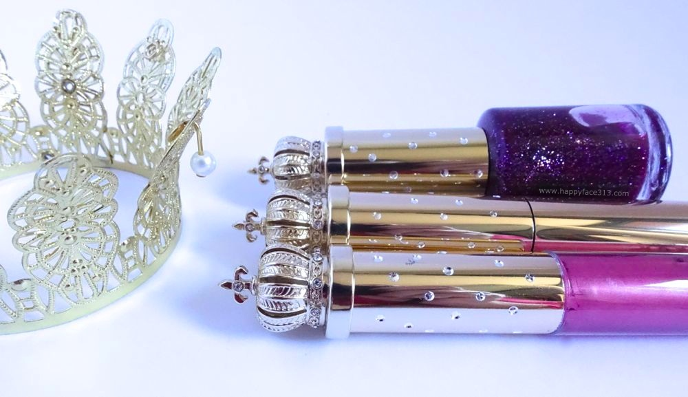 Pömpöös (e) Verpackungen - Gold, Glitzer und Krönchen