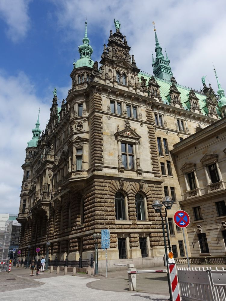 Hamburger - Rathaus / city hall