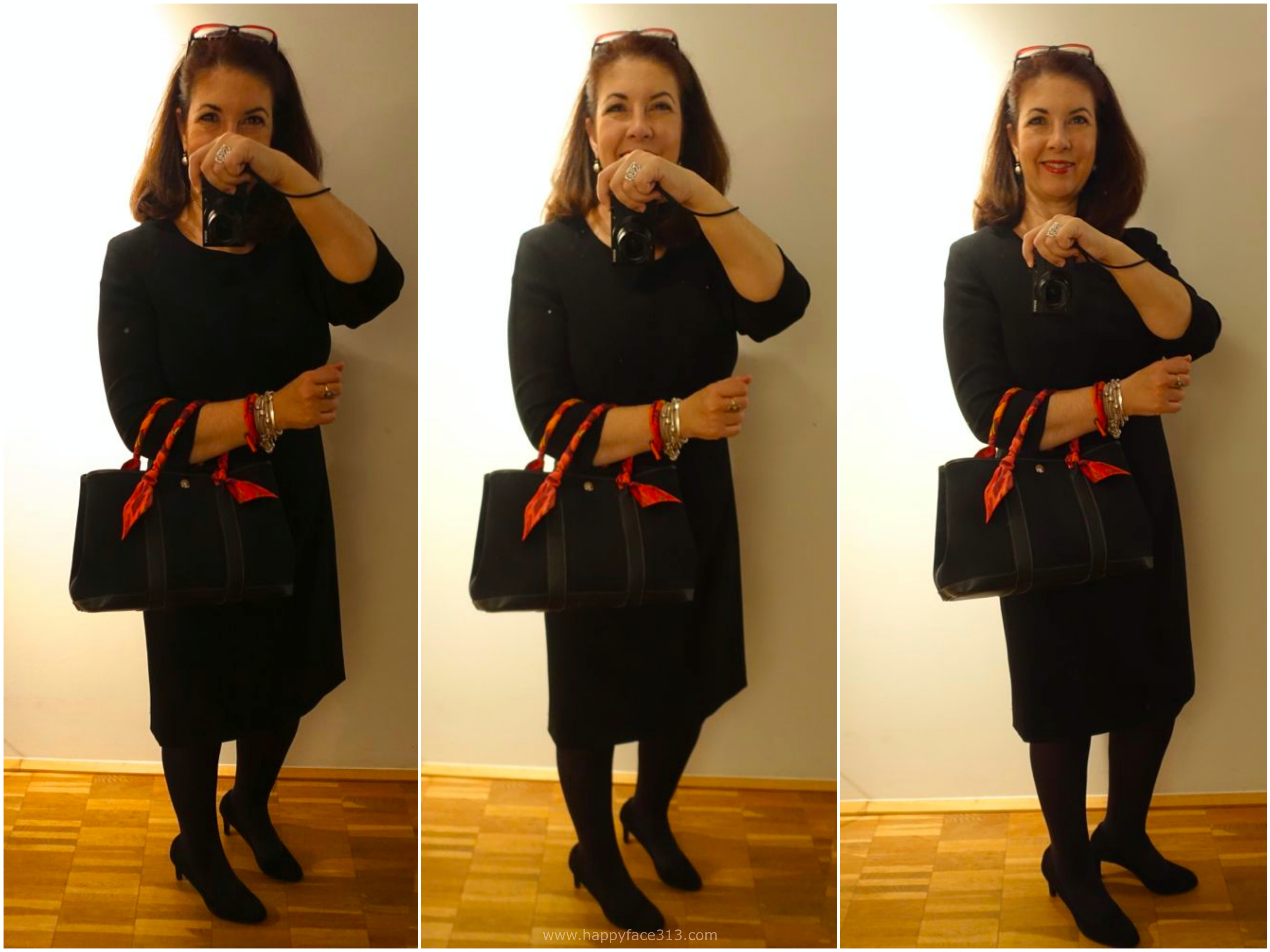 langärmeliges Little Black Dress / long sleeved LBD