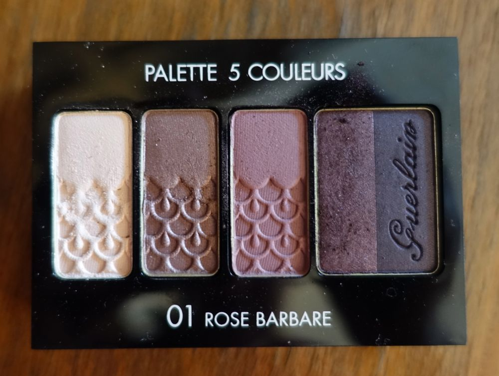 Guerlain Palette 5 Couleurs 01 Rose Barbare