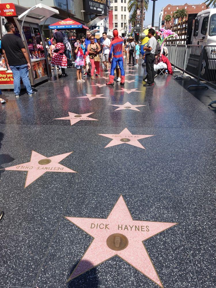 Stars on Hollywood Boulevard