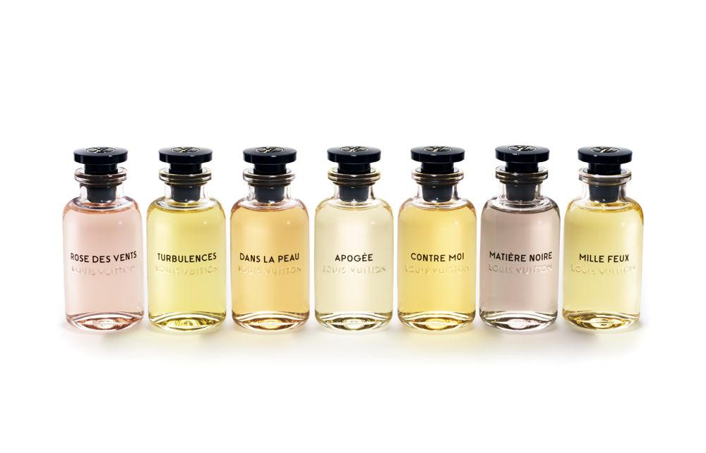 Les Parfums by Louis Vuitton - 100ml collection bottles