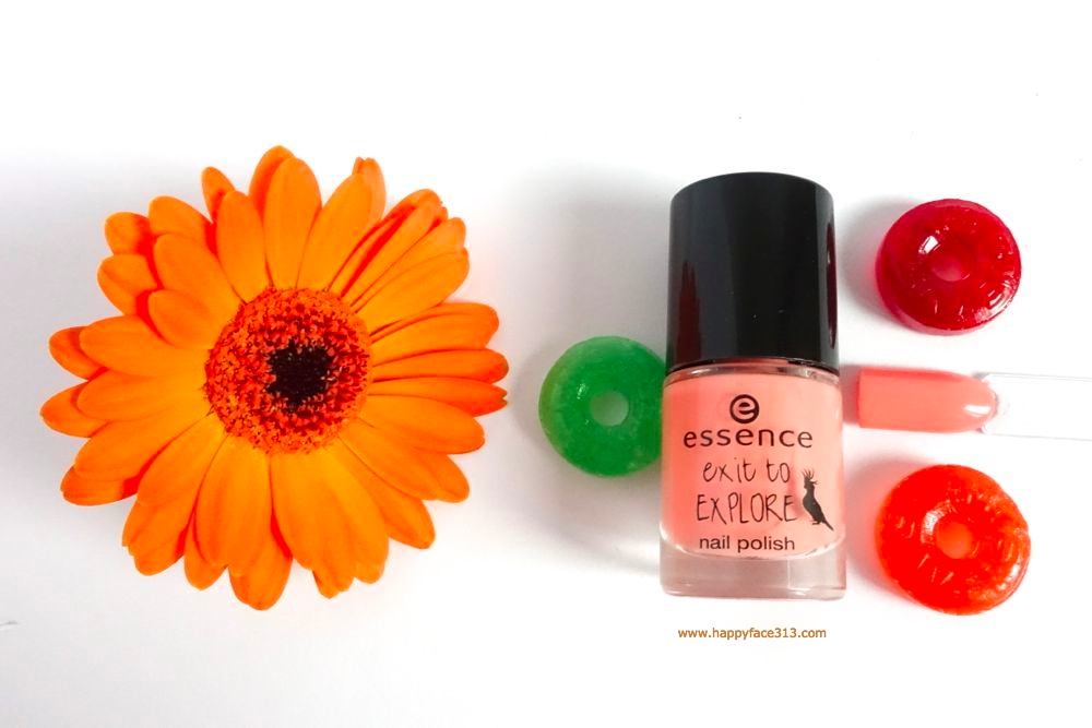 essence nail polish 02 apricot cockatoo