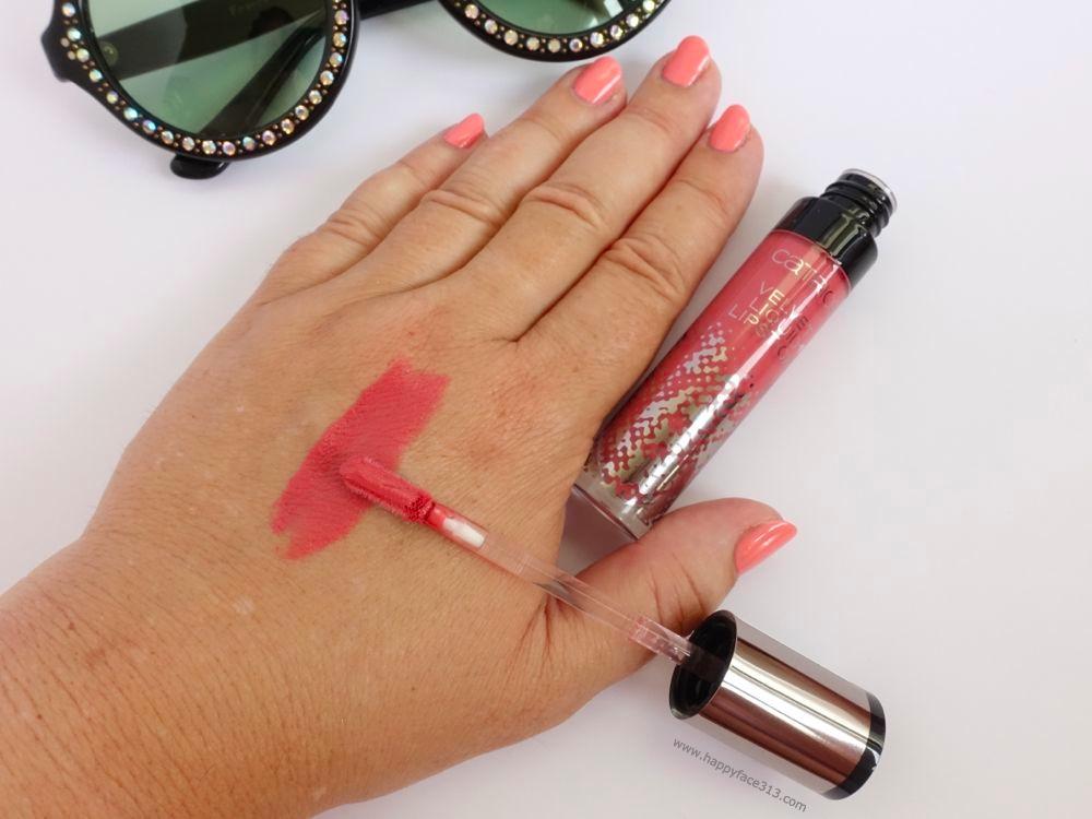 Swatch Velvet Liquid Lipstick C02 Retro Rosiness
