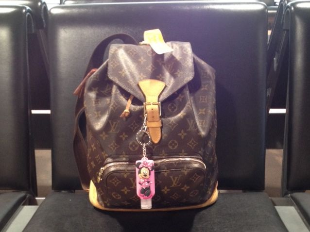mein Louis Vuitton Monsouris Rucksack on Tour