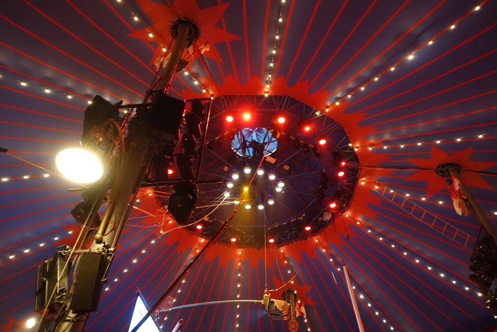 Circus-Roncalli-Zirkuskuppel