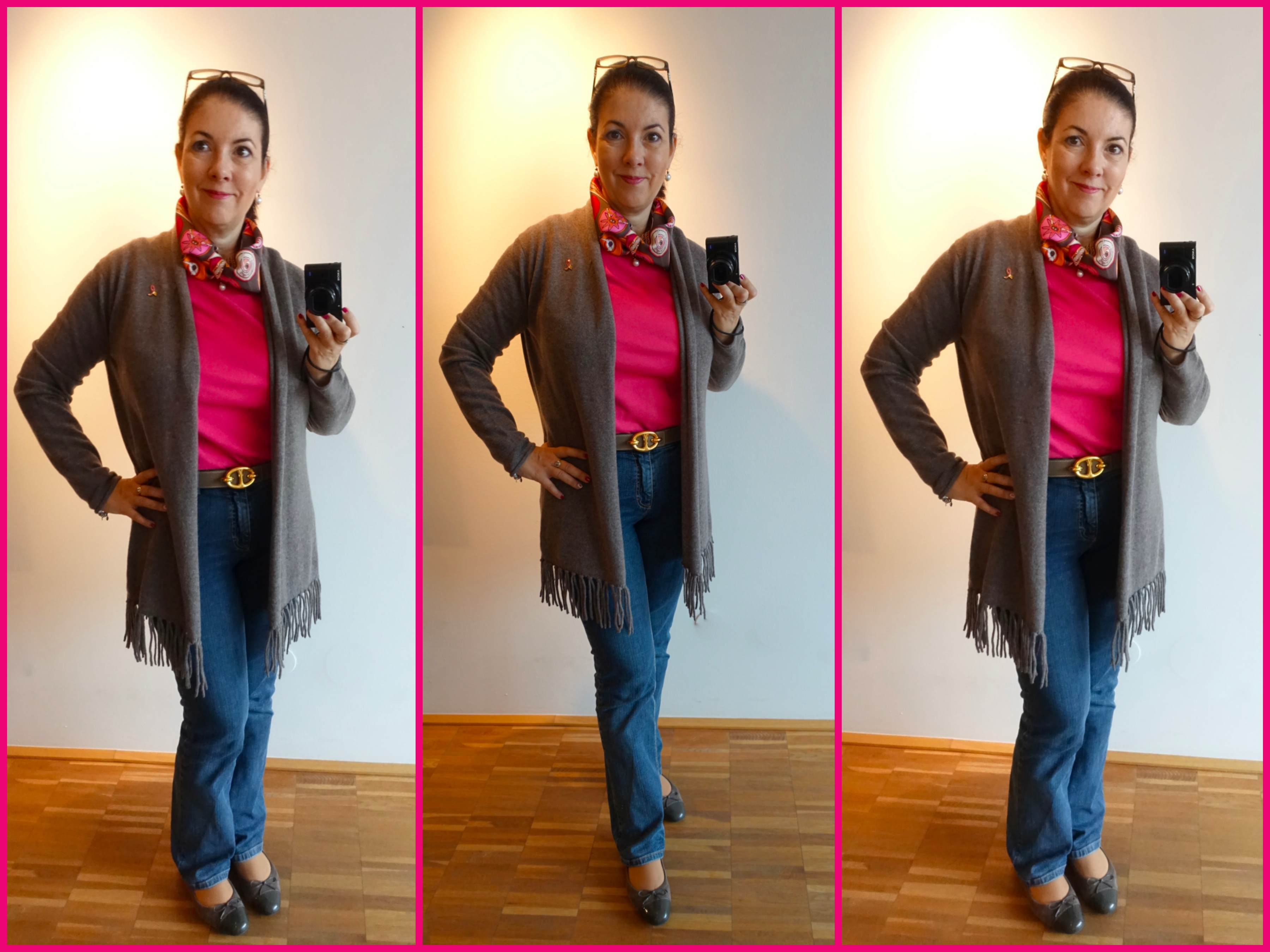 How I wear and fold my Belles Du Mexique Neckerchief