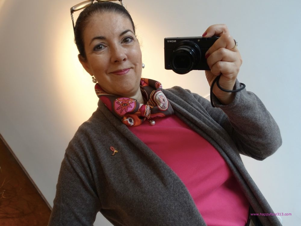 HappyFace313 wearing Neckerchief Belles du Mexique