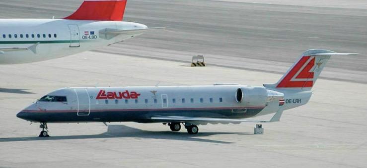 Lauda Air Canadair Jet