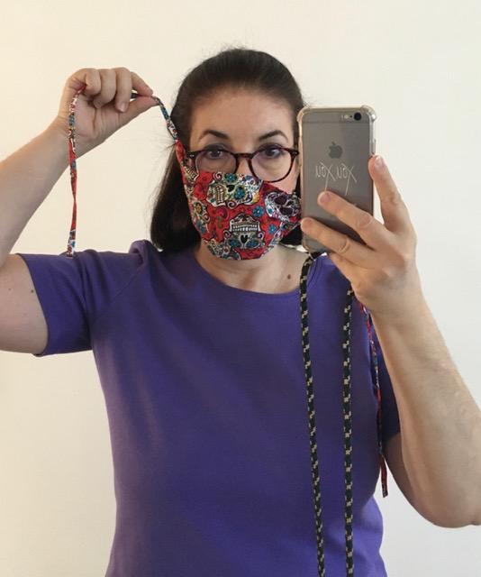 HappyFace313 DIY Mund-Nasen-Maske