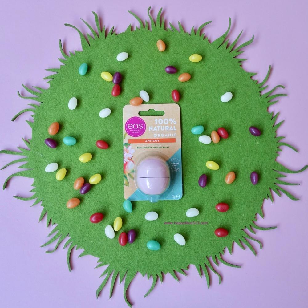 HappyFace313 eos sphere lip balm