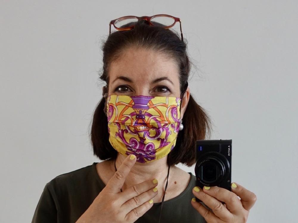 HappyFace313 #wearadamnmask